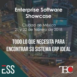Technology Evaluation Centers publica la lista de proveedores del Enterprise Software Showcase en México