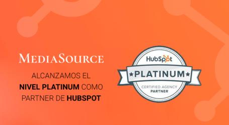 Media Source alcanza nivel Platinum como Partner de HubSpot