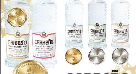Mezcal Carreño gana los mejores premios en la competencia mundial de destilados San Francisco 2020
