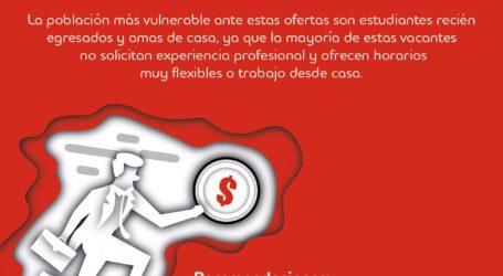 Incrementan ofertas laborales fraudulentas durante la pandemia: Grupo Adecco