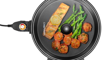 Parrillas y sartenes CHEFMAN,  increíbles opciones que facilitan el arte de cocinar