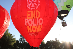 2.500 millones de niños vacunados contra la Polio en el mundo gracias a Rotary