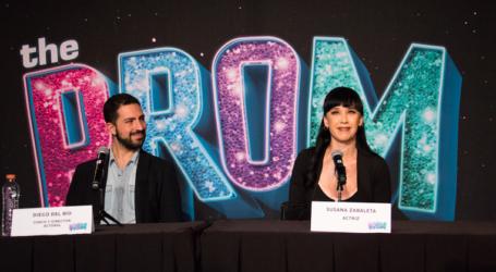 Susana Zabaleta y Diego del Río se suman con su talento a la puesta en escena de The Prom México